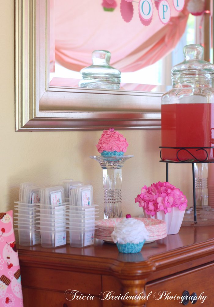 sparkling pink punch party recipe cupcake party 1st birthday fake cupcakes