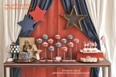 4th of july party by Creative Juice