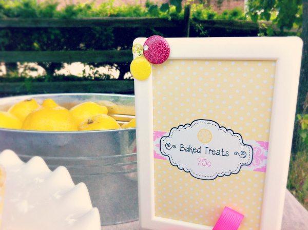 Baked Treats Sign