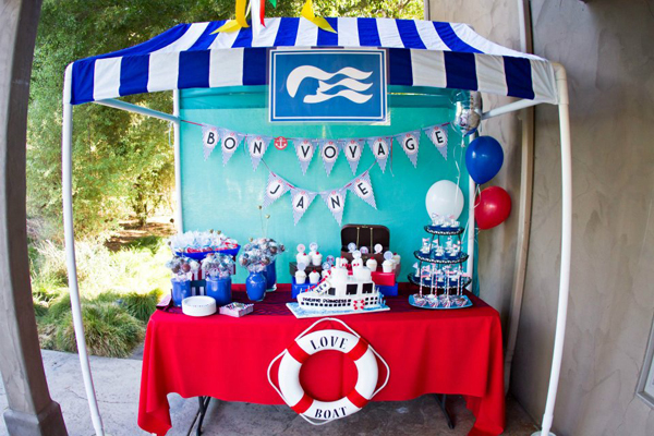 How to Make a PVC Canopy Love Boat inspired design