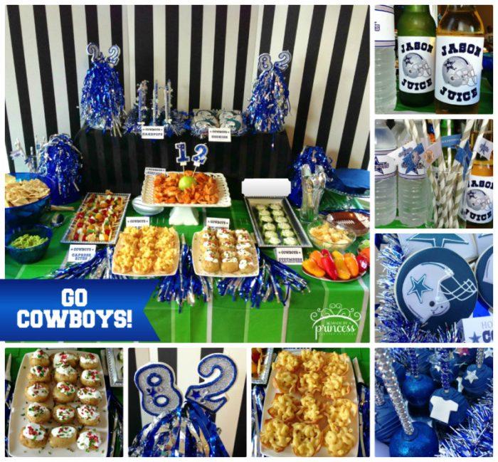 0db9d7139 Dallas Cowboys Football Party - Made by A Princess