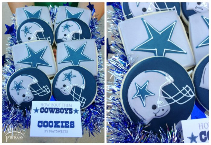 cowboys cookies collage