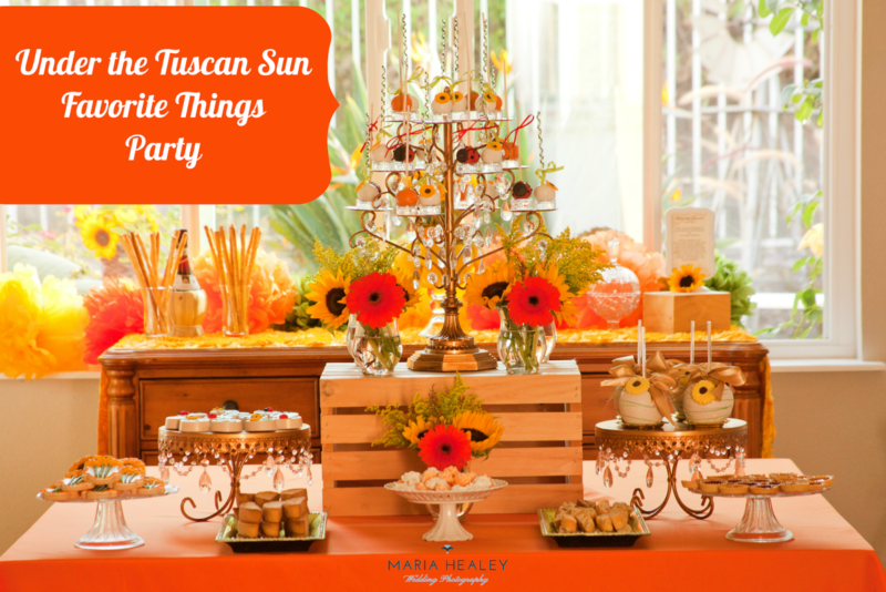 Under the Tuscan Sun Inspired Party