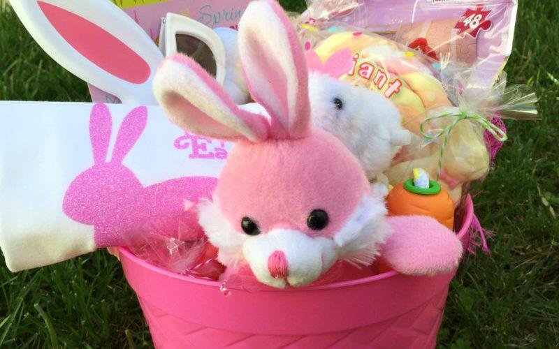 Pink Easter Basket Giveaway