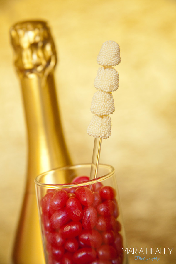 Made by a Princess Say Yes with Jelly Belly champagne bubbles wm