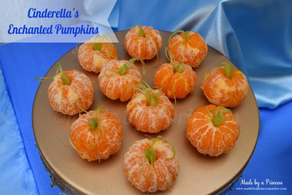 cinderella party enchanted pumpkins 600