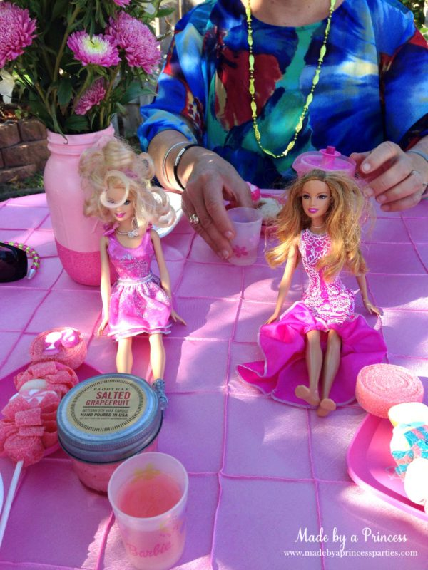barbie tea party barbies