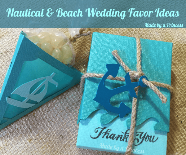 Nautical and Beach Themed Favors