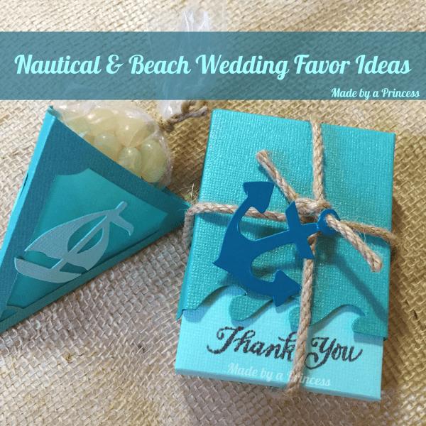 sizzix beach wedding favors sq