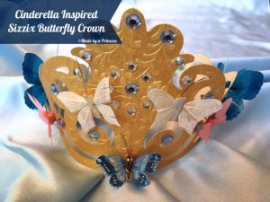 Cinderella Inspired Butterfly Crown