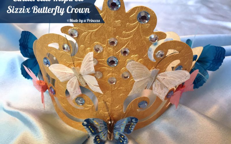 Cinderella Inspired Butterfly Princess Crown