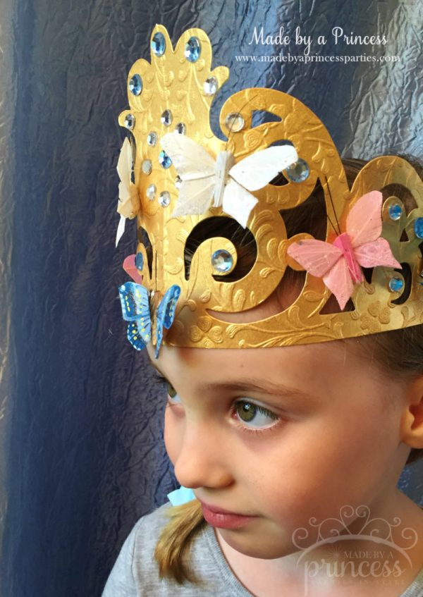 sizzix crown tutorial princess