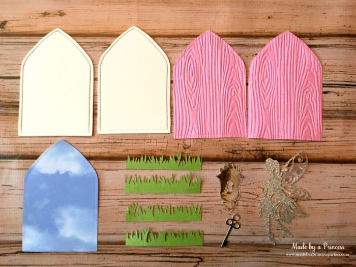 how to make a fairy door pieces you need