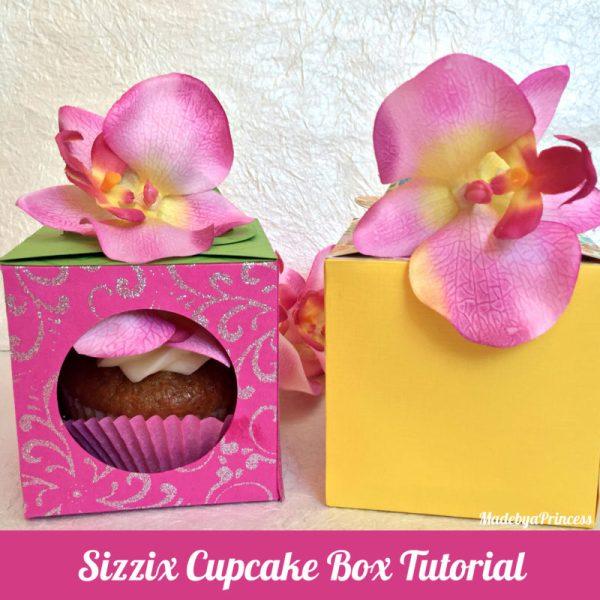 sizzix cupcake box main