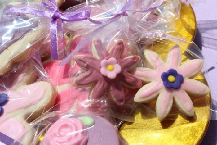best day ever rapunzel party by tabletop treats cookies