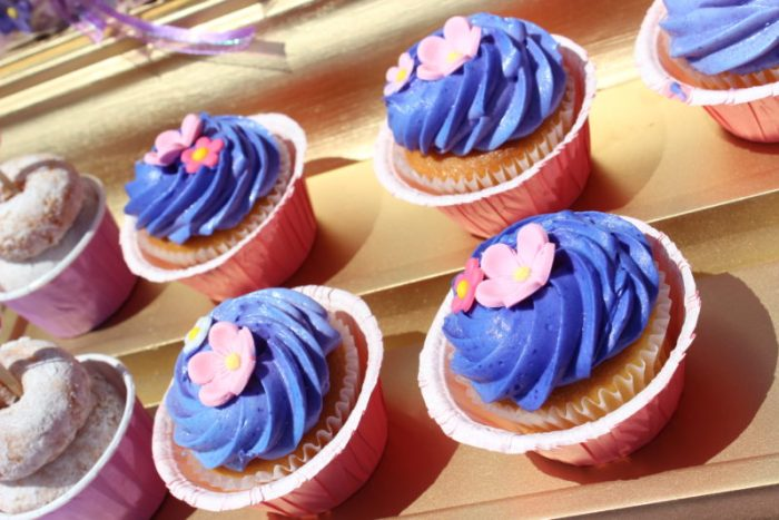 best day ever rapunzel party by tabletop treats cupcakes