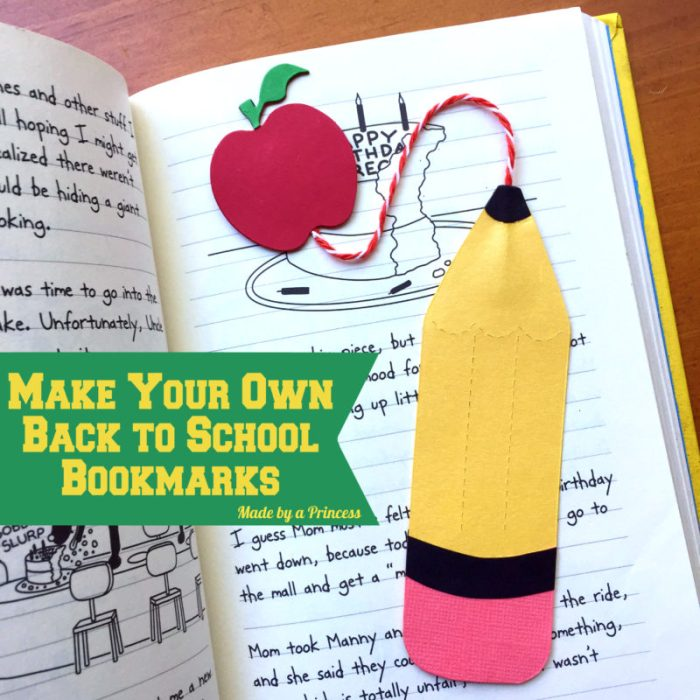sizzix pencil bookmark main