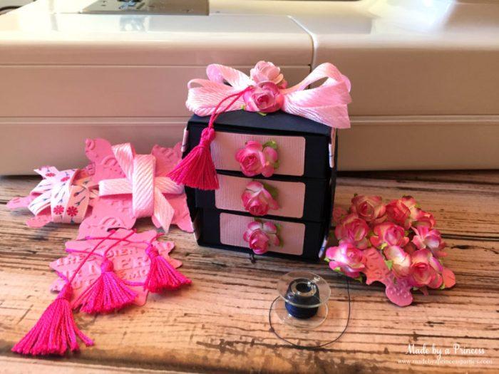 sizzix sewing box set