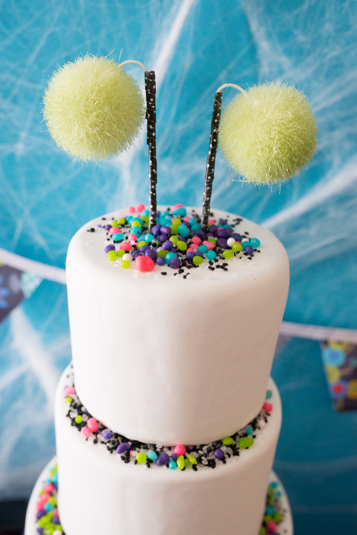 Monster Mash Party Ideas cake
