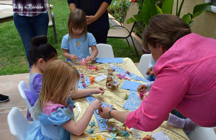 Princess Cinderella Party Will Leave You Enchanted crown making
