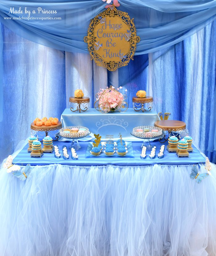 Princess Cinderella Party Will Leave You Enchanted dessert table