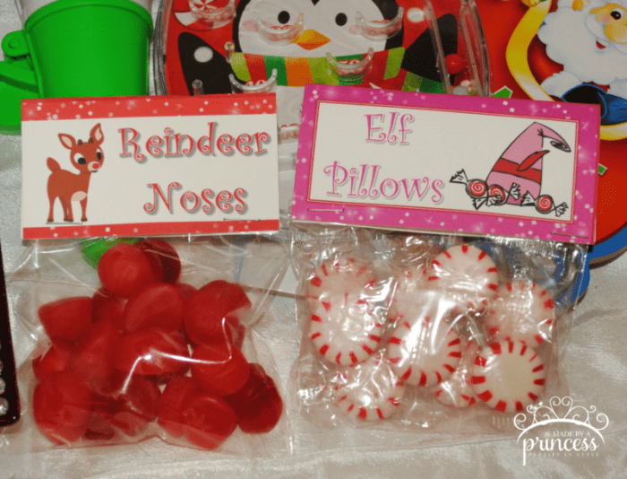 reindeer noses and elf pillows wm