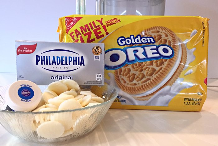 OREO cookie ball supplies
