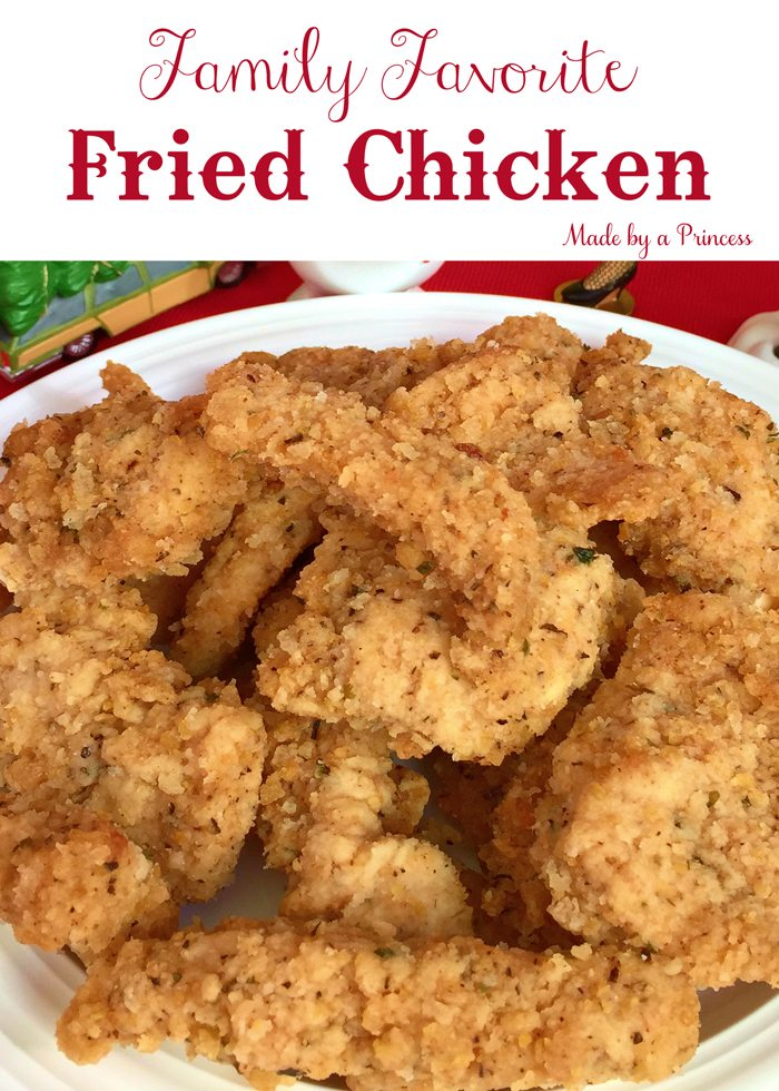 kylies family fried chicken main