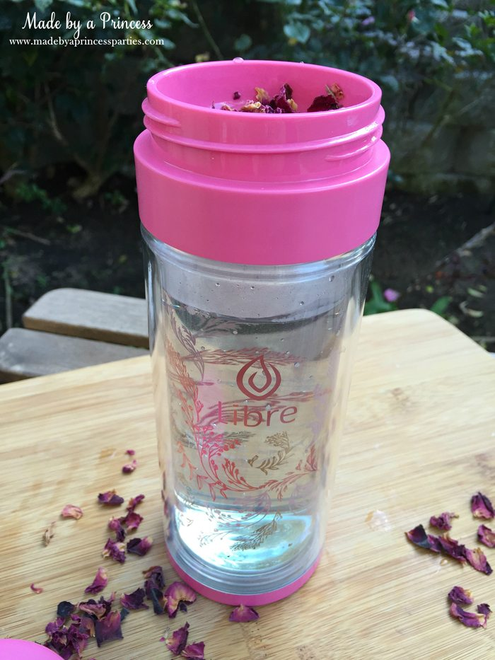 libre tea travel infuser with hot water wm