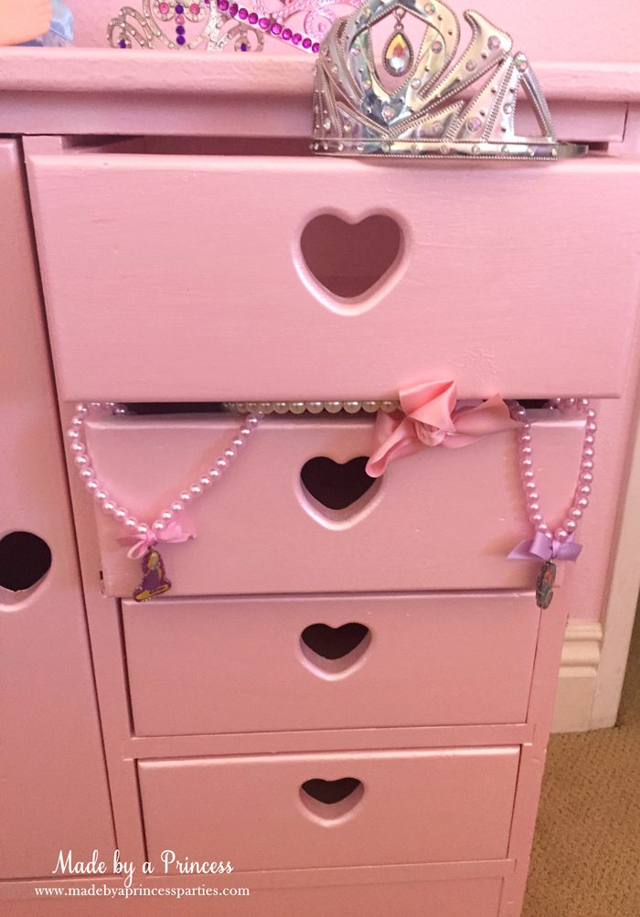 antique cabinet pink pearl makeover drawers filled with treasures