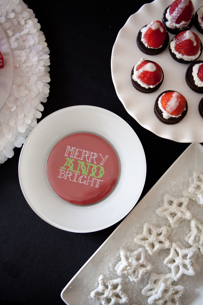 candy cane lane christmas party create ur plate