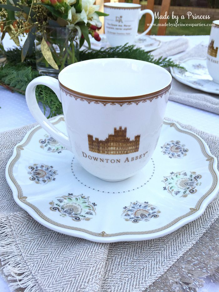 downton abbey cpwm cookie exchange mug front
