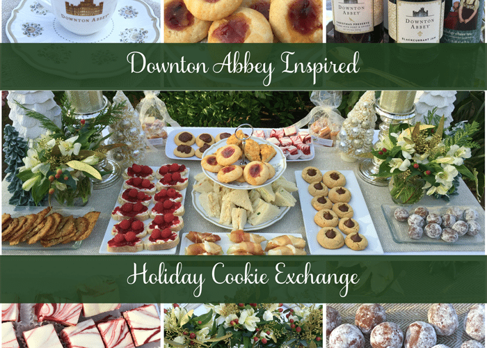 Downton Abbey Holiday Cookie Exchange