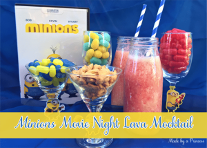Minions Movie Night Lava Mocktail