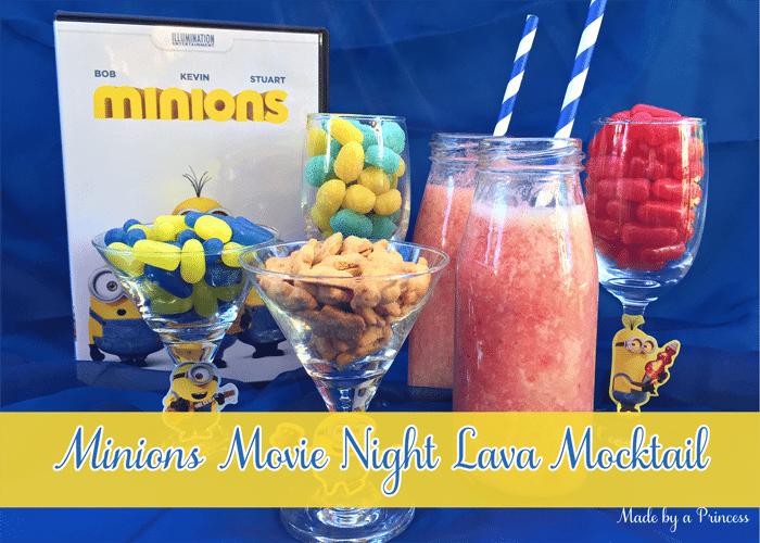 minions movie night lava mocktail main