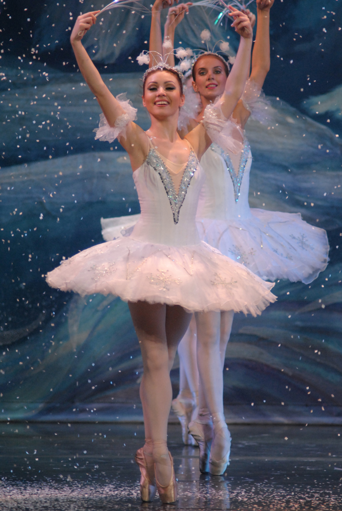 moscow ballet nutcracker snowflakes in the acclaimed great russian nutcracker