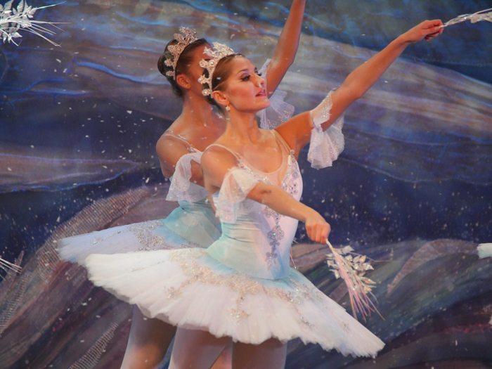 moscow ballet nutcracker snowflakes