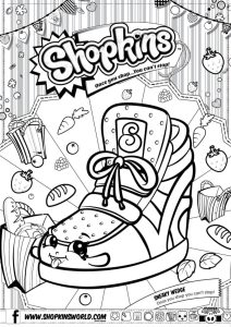 Shopkins Coloring Pages Season 2 Sneaky Wedge