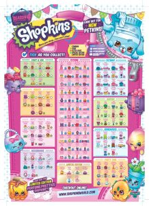 Shopkins Season 4 Collectors Guide Checklist