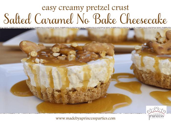 easy creamy pretzel crust no bake cheesecake