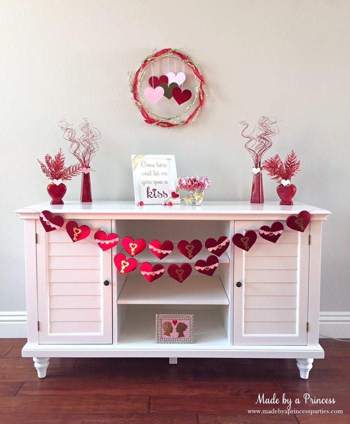 sizzix valentine table