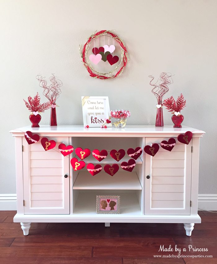 sizzix valentine table