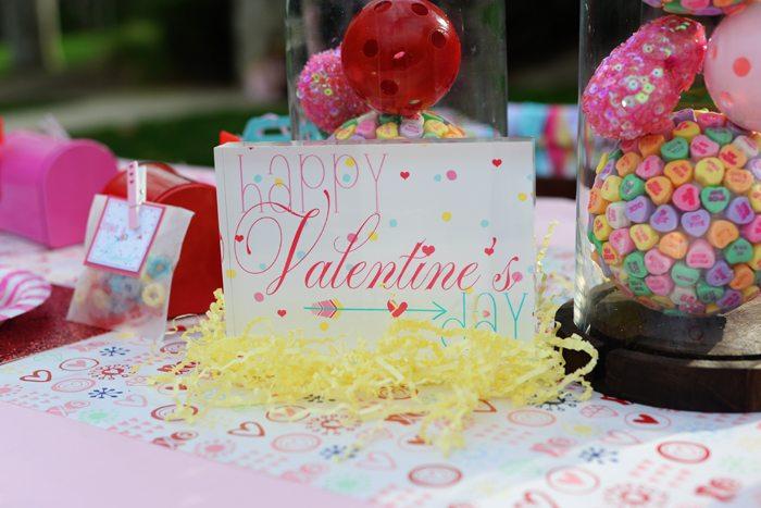Creative Kids Valentine Party Ideas sign 2