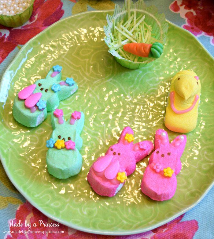 Easy Easter Entertaining Ideas marshmallow bunnies