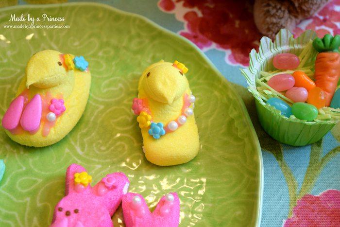 Easy Easter Entertaining Ideas marshmallow chicks