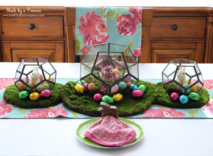 Easy Easter Entertaining Ideas terrarium trio