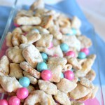 Baby Shower Muddy Buddy Puppy Chow Recipe