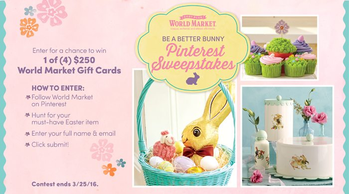 be a better bunny pinterest sweepstakes