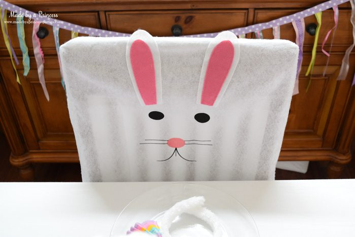 budget friendly easter ideas chairbacks