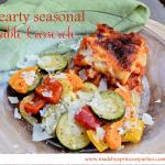 hearty seasonal vegetable casserole recipe main